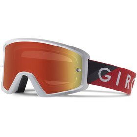Giro Blok MTB Maschera, red/grey